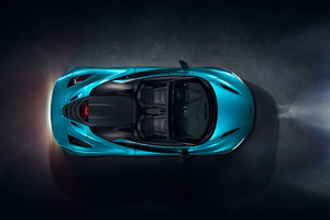 McLaren 720S Spider 2019 Upper View