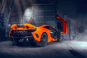 Mclaren Doors Up Modified Exhausts