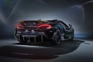 McLaren MSO 600LT Spider 2020 Rear Wallpaper