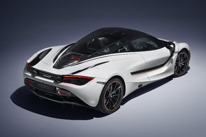 McLaren MSO 720S Track Theme 2018 Upper View