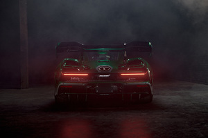 McLaren MSO Senna 2018 Rear