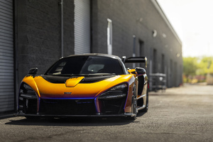 McLaren MSO Senna 4k 2020