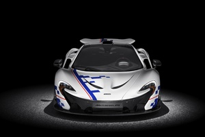 Mclaren P1 Front Look Wallpaper