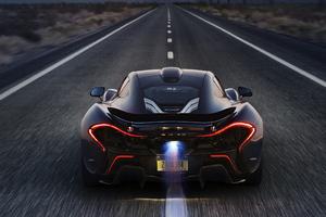 McLaren P1 XP7 Rear