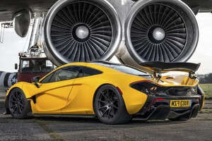 Mclaren P1 Yellow Wallpaper