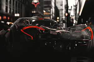 Mclaren Scifi Ride 4k Wallpaper