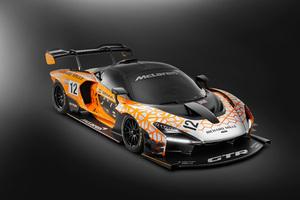 McLaren Senna GTR Concept 4k