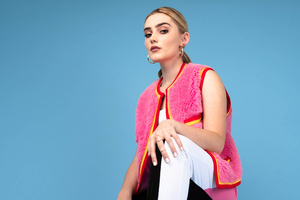 Meg Donnelly Alex Cole Photoshoot Wallpaper