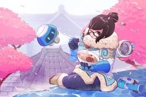 Mei Overwatch 4k Wallpaper