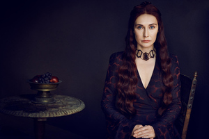Melisandre Game Of Thrones Season 8 Wallpaper