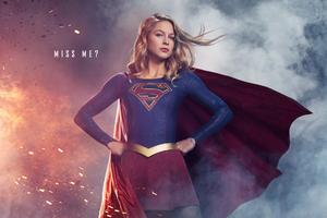Melissa Benoist In Supergirl Season 3 2018
