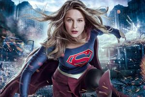 Melissa Benoist Supergirl 2017 Tv Series