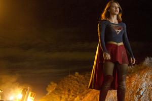 Melissa Benoist Supergirl Tvseries Wallpaper