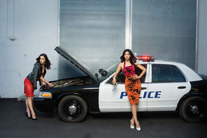 Melissa Fumero And Stephanie Beatriz Brooklyn Nine Nine Photoshoot