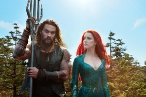 Mera And Aquaman In Movie