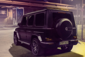 Merc G Wagon 4k Wallpaper