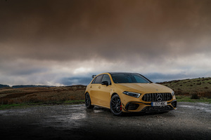 Mercedes Amg A 45 8k Wallpaper