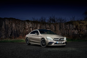 Mercedes AMG C 43 4MATIC Coupe 2018 Wallpaper