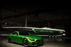 Mercedes Amg Cigarette Racing Car 2017