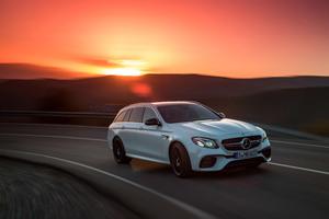 Mercedes AMG E 63 S 4MATIC Estate 2017 Wallpaper