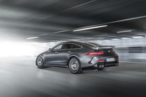 Mercedes AMG GT 63 S 4MATIC 4 Door Coupe Edition 1 Rear