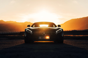 Mercedes AMG GT C 2018 Wallpaper