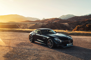 Mercedes AMG GT C 4k 2018 Wallpaper