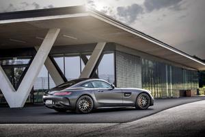 Mercedes AMG GT C Edition 50 2017 Rear