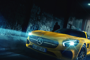 Mercedes AMG GT R 2018 Front View