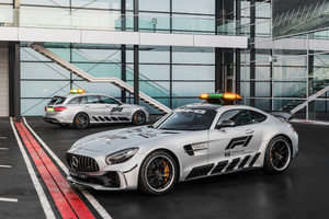 Mercedes AMG GT R And C Klasse Estate F1 Safety Car 2018