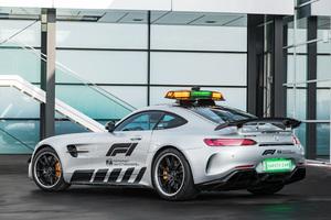 Mercedes AMG GT R F1 Safety Car 2018 Rear