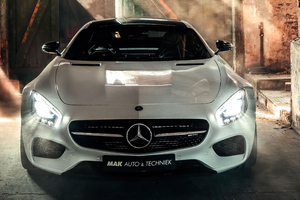 Mercedes Amg Gt S 5k Wallpaper