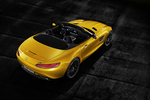 Mercedes AMG GT S Roadster 2018 Rear