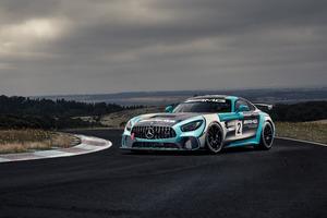 Mercedes AMG GT4 · Mercedes AMG GT4 Wallpaper