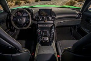 Mercedes AMG GTR Interior Wallpaper