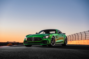 Mercedes Amg Gtr4k Wallpaper