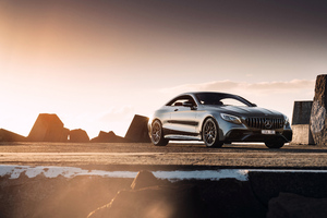 Mercedes AMG S63 2018 4k