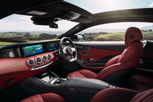 Mercedes AMG S63 2018 Interior