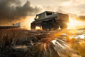 Mercedes Benz AMG G63 6x6 8k Wallpaper
