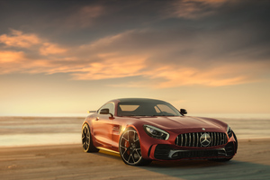 Mercedes Benz Amg Gt CGI 4K Wallpaper