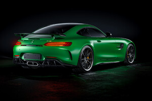 Mercedes Benz Amg Gtr 4k Rear Wallpaper