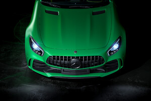Mercedes Benz Amg Gtr Front 4k Wallpaper