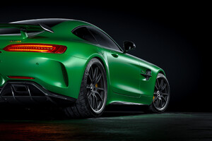 Mercedes Benz Amg Gtr Rear 4k Wallpaper