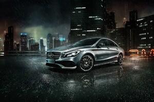 Mercedes Benz CLA Wallpaper