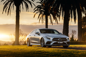 Mercedes Benz CLS 450 4MATIC AMG Line 2018 Wallpaper