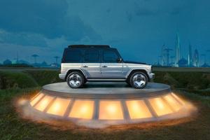 Mercedes Benz Concept EQG 10k Wallpaper