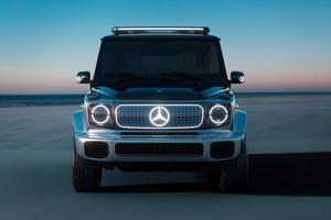 Mercedes Benz Concept EQG Front Look 4k Wallpaper