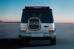 Mercedes Benz Concept EQG Rear Look 4k Wallpaper