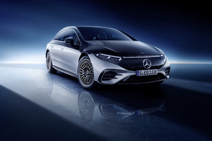 Mercedes Benz EQS 580 4 Matic Amg Line 5k Wallpaper