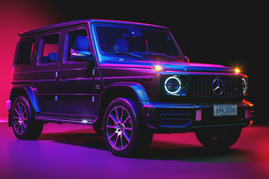 Mercedes Benz G 63 Black Wallpaper